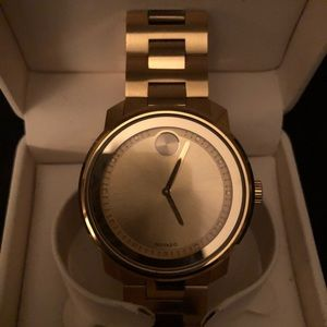 Movado Bold Gold Tone Watch